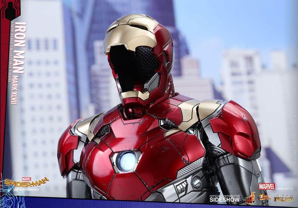 Iron Man Mark Xlvii Spider Man Homecoming Issue