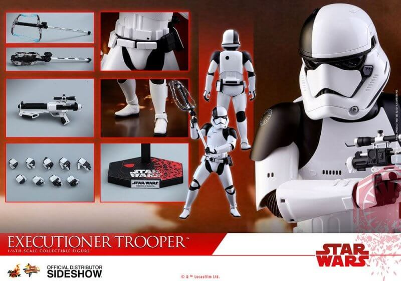 STAR WARS WEAPON FOR FIRST ORDER EXECUTIONER STORMTROOPER 6 INCH FIGURE