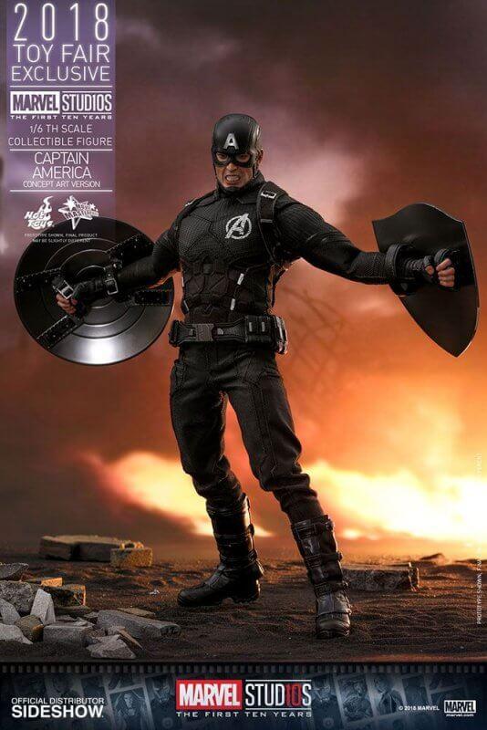 Captain America Avengers 1 Suit Concept Art