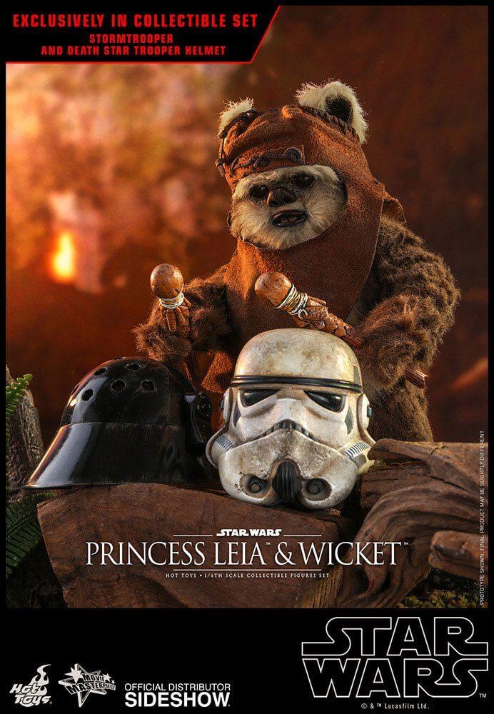 princess leia return of the jedi ewok